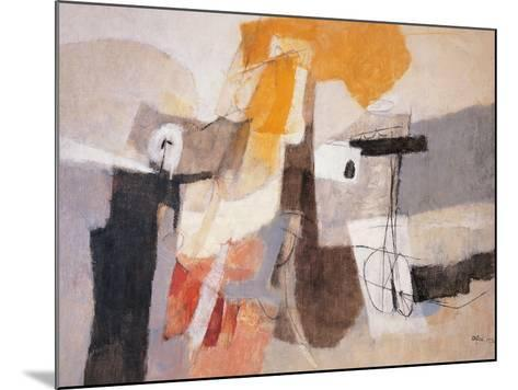 Composition-Afro Basaldella-Mounted Giclee Print