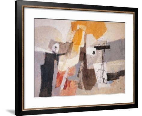 Composition-Afro Basaldella-Framed Art Print