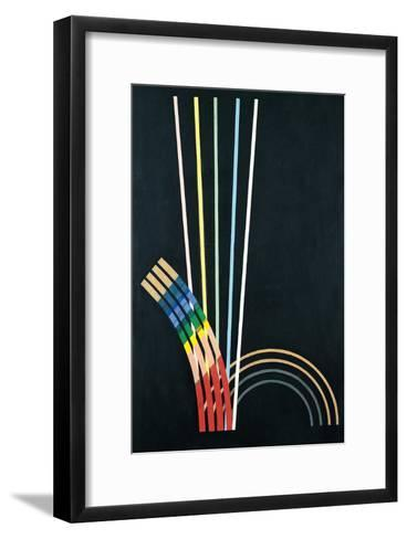 Music Is Like Painting-Francis Picabia-Framed Art Print