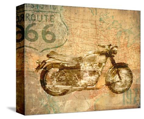 American Rider-Andrew Sullivan-Stretched Canvas Print