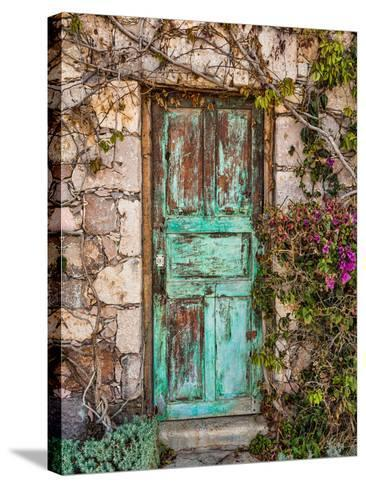 Doorway in Mexico II-Kathy Mahan-Stretched Canvas Print