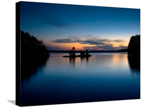 Twilight on the Lake IV-Beth Wold-Stretched Canvas Print