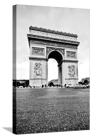 Ave Champs Elysees V-Erin Berzel-Stretched Canvas Print