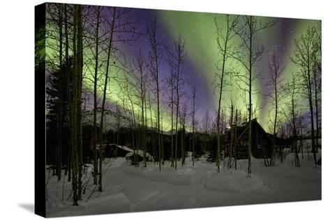 Aurora Borealis XII-Larry Malvin-Stretched Canvas Print