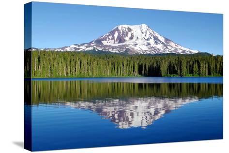 Mt. Adams-Douglas Taylor-Stretched Canvas Print
