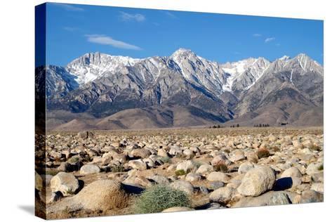 Sierra Nevada Mountains II-Douglas Taylor-Stretched Canvas Print