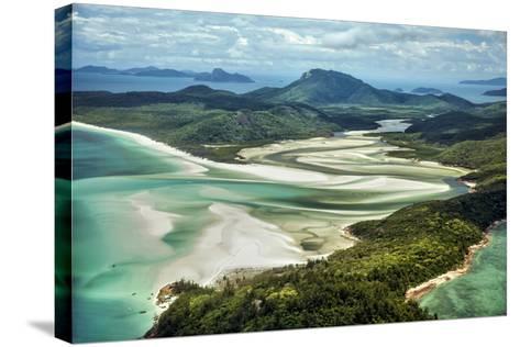 Whitsunday Island I-Larry Malvin-Stretched Canvas Print