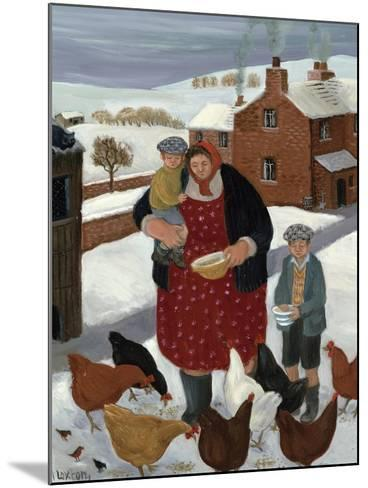 Backyard in Winter-Margaret Loxton-Mounted Giclee Print
