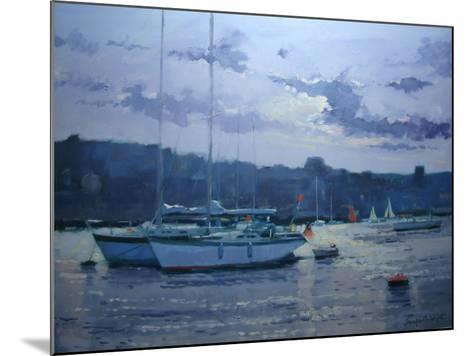 Moored Yachts, Late Afternoon-Jennifer Wright-Mounted Giclee Print