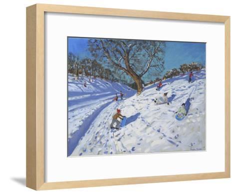 Bright Morning, Chatsworth, 2013-Andrew Macara-Framed Art Print