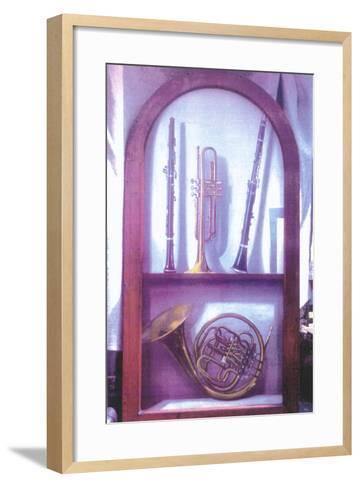 I Hear Music, Sweet Music (1985)-Terry Scales-Framed Art Print