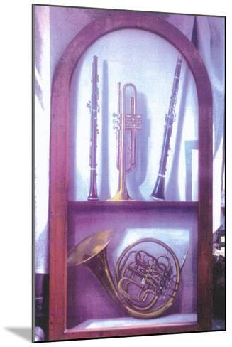 I Hear Music, Sweet Music (1985)-Terry Scales-Mounted Giclee Print