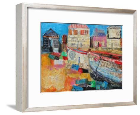Old Fishing Boats, 2013-Sylvia Paul-Framed Art Print