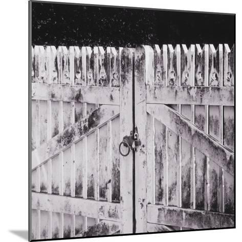 Closed Gate-Graeme Harris-Mounted Photographic Print