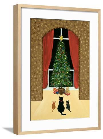 The Christmas Tree-Margaret Loxton-Framed Art Print