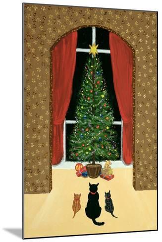 The Christmas Tree-Margaret Loxton-Mounted Giclee Print