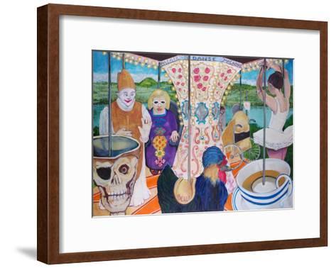 Palais De Dance Macabre-Vanilla Beer-Framed Art Print