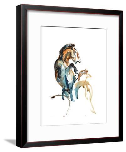 Spirit (Przewalski), 2013-Mark Adlington-Framed Art Print