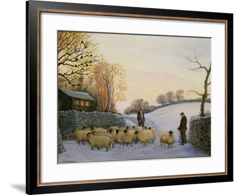 Coming Home-Margaret Loxton-Framed Art Print