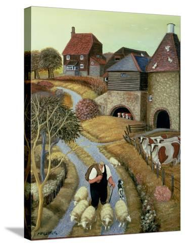 French Street Farm-Margaret Loxton-Stretched Canvas Print