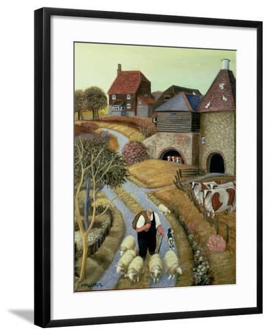 French Street Farm-Margaret Loxton-Framed Art Print
