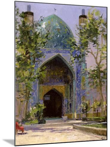 Chanbagh Madrasses, Isfahan-Bob Brown-Mounted Giclee Print