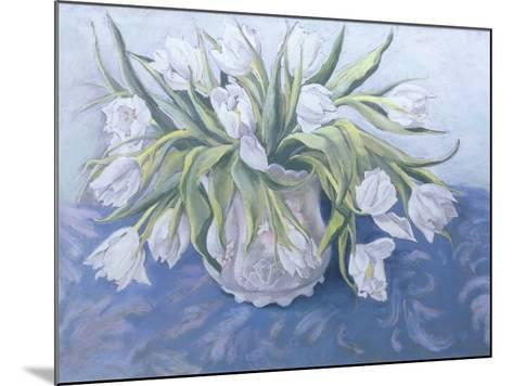 White Tulips-Cristiana Angelini-Mounted Giclee Print