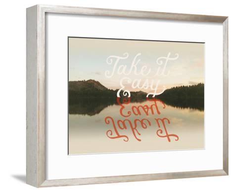Take it Easy-Danielle Kroll-Framed Art Print