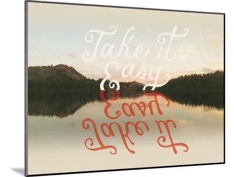 Take it Easy-Danielle Kroll-Mounted Giclee Print