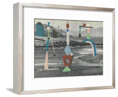Sea Glass-Danielle Kroll-Framed Art Print