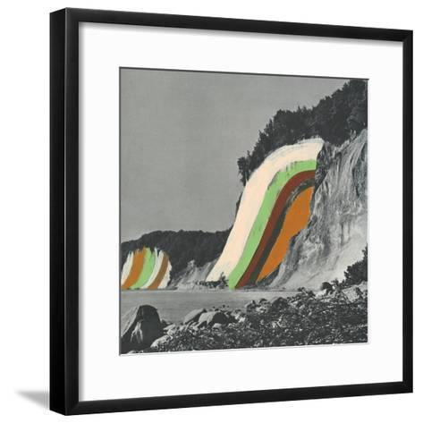 Coloring Cliffs-Danielle Kroll-Framed Art Print