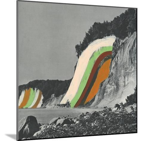 Coloring Cliffs-Danielle Kroll-Mounted Giclee Print