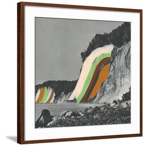 Coloring Cliffs-Danielle Kroll-Framed Art Print