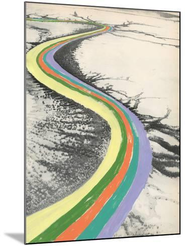 Rainbow Road-Danielle Kroll-Mounted Giclee Print