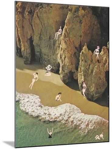 La Costa delle Donne-Danielle Kroll-Mounted Giclee Print