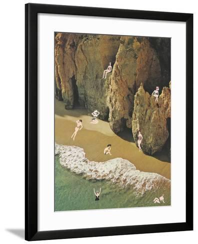 La Costa delle Donne-Danielle Kroll-Framed Art Print