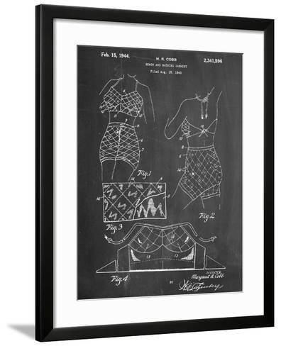 Vintage Bathing Suit Patent 1940--Framed Art Print