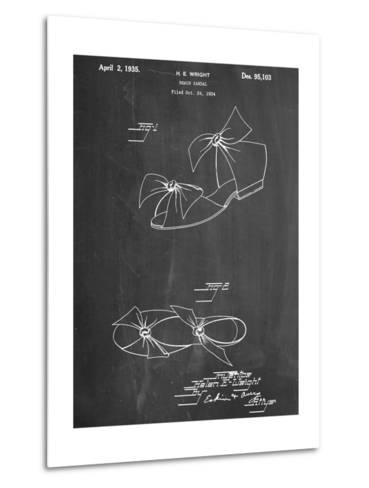 Vintage Beach Sandal 1934 Patent--Metal Print