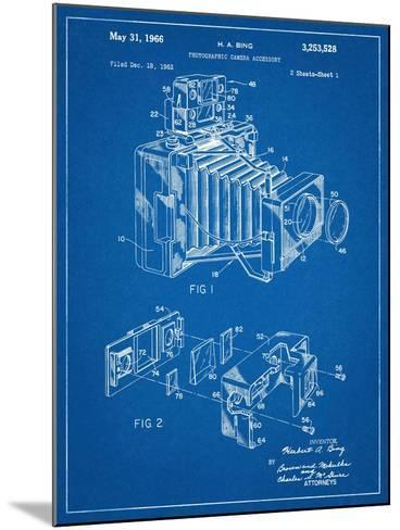 Photographic Camera Accessory Patent--Mounted Art Print