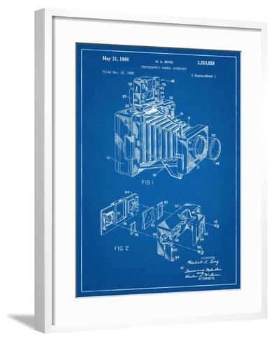 Photographic Camera Accessory Patent--Framed Art Print