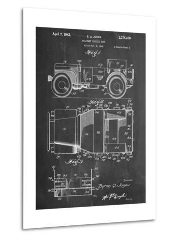 Willy's Jeep Patent--Metal Print