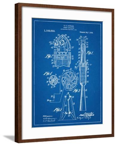 Rocket Patent--Framed Art Print