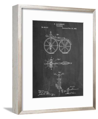 First Bicycle Patent--Framed Art Print