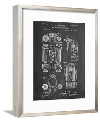 First Computer Patent 1889--Framed Art Print