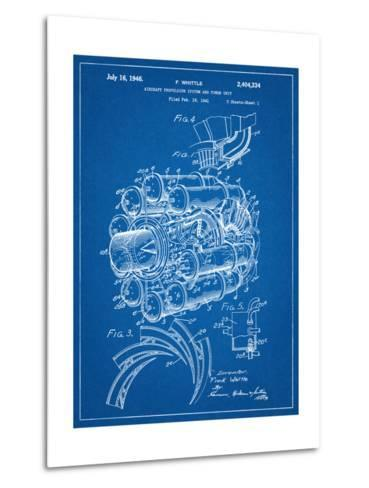 Aircraft Rocket Patent--Metal Print