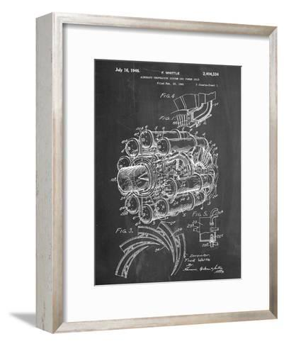 Aircraft Rocket Patent--Framed Art Print