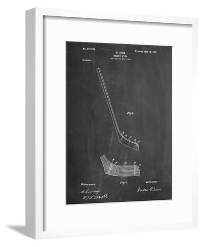 Hockey Stick Patent--Framed Art Print