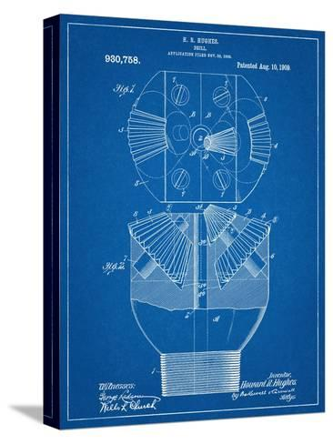 Howard Hughes Drill, Oil Drill Patent--Stretched Canvas Print