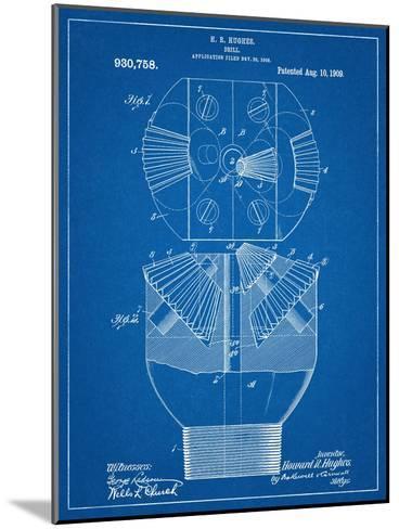 Howard Hughes Drill, Oil Drill Patent--Mounted Art Print