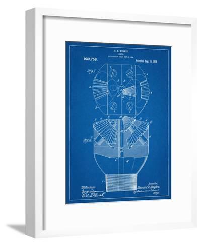 Howard Hughes Drill, Oil Drill Patent--Framed Art Print